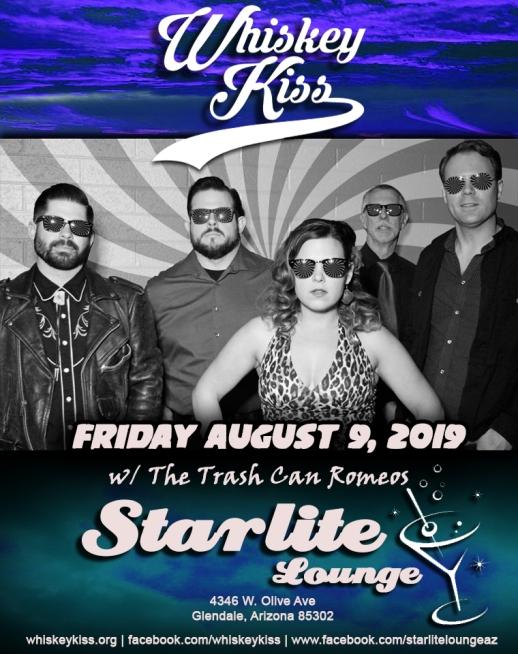 August 9 2019- Starlite Lounge